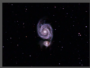 Read more about the article M51 – Whirlpool Galaxy