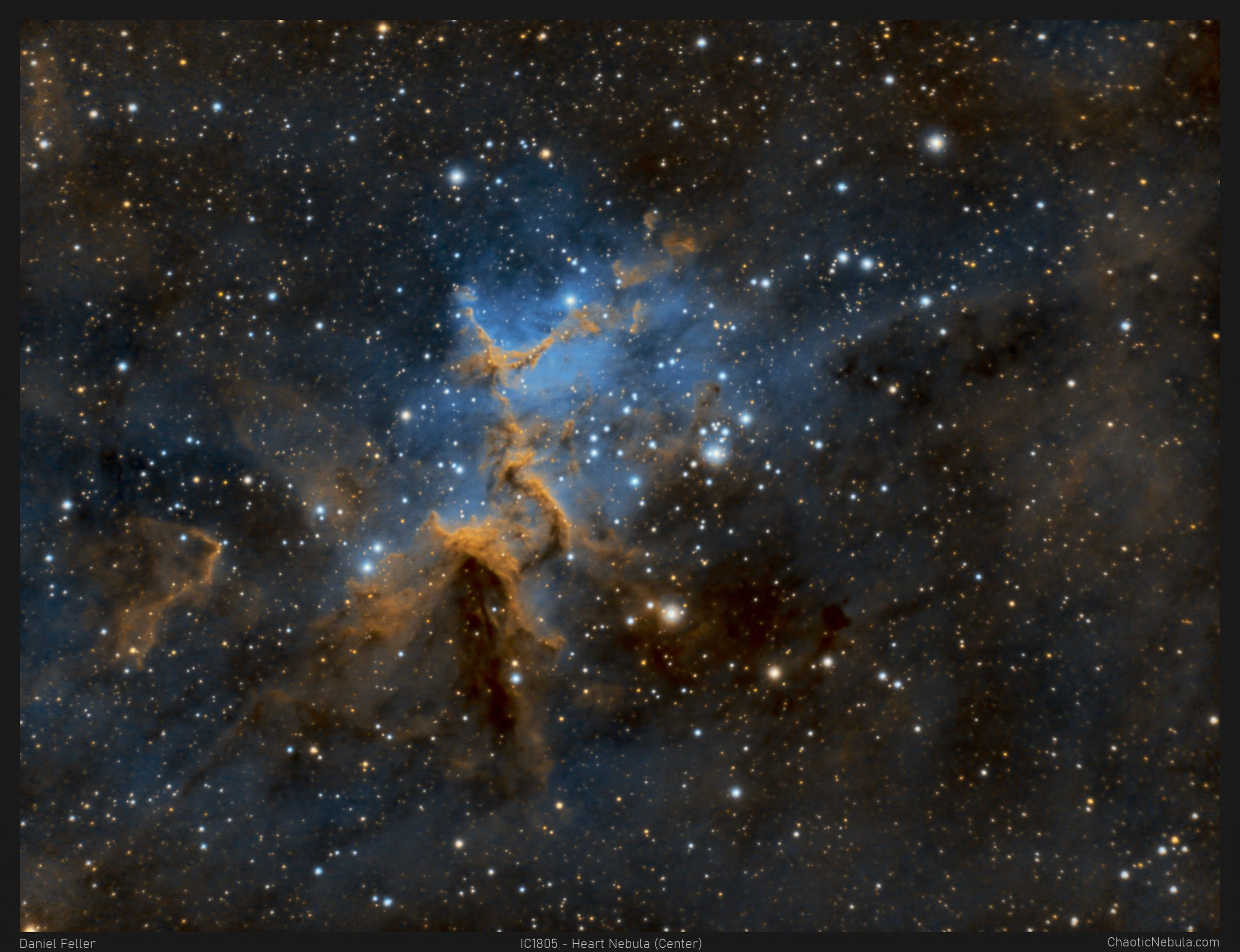 Read more about the article IC 1805 – The Heart of the Heart Nebula