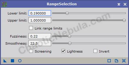 Range selection