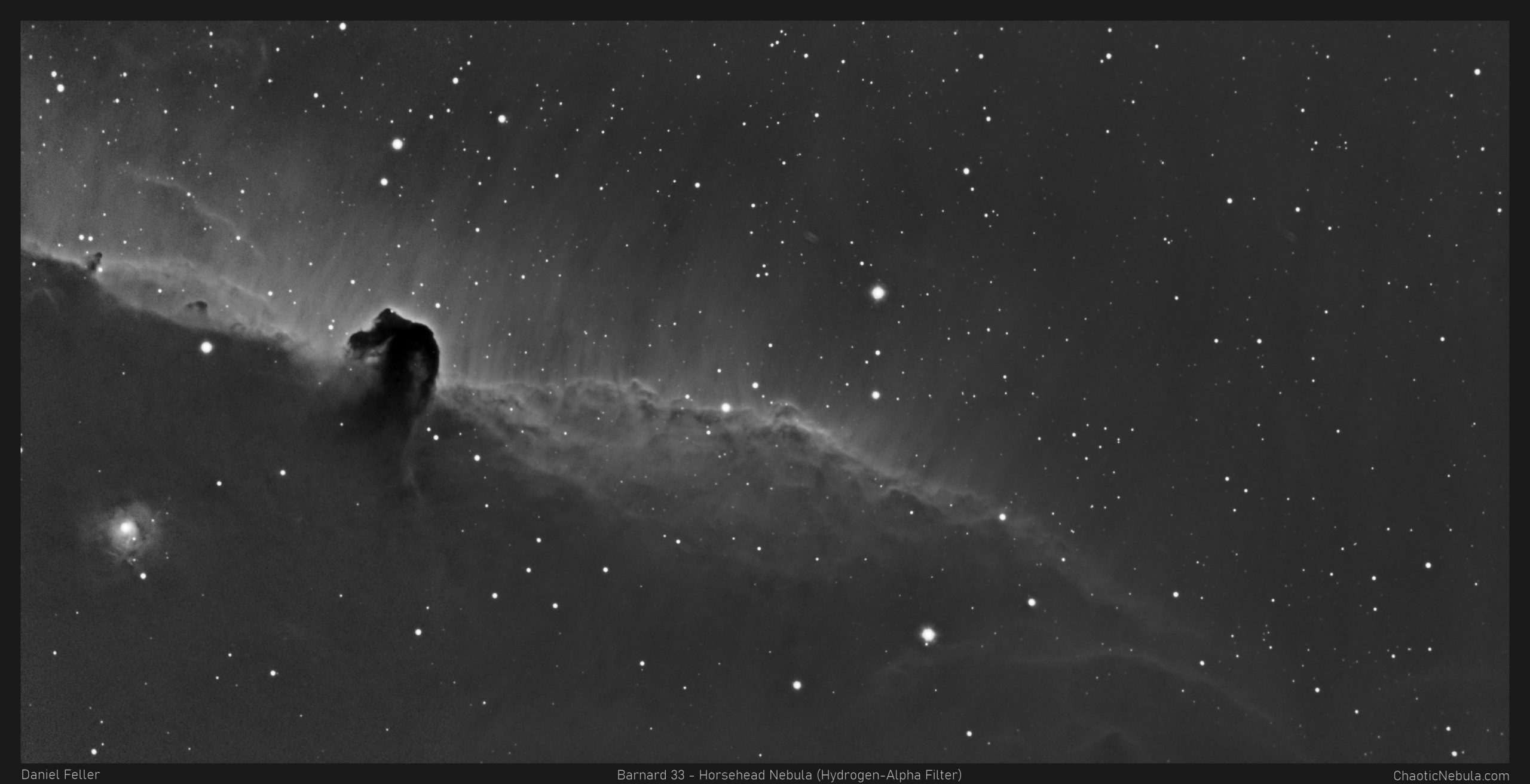 Read more about the article Barnard 33 – Horsehead Nebula