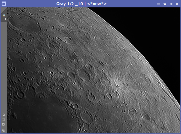 Lunar Deconvolution - 10 Iterations
