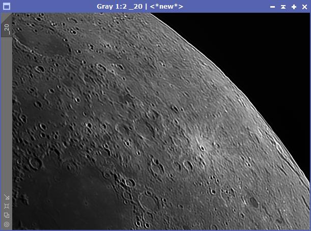 Lunar Deconvolution - 20 Iterations