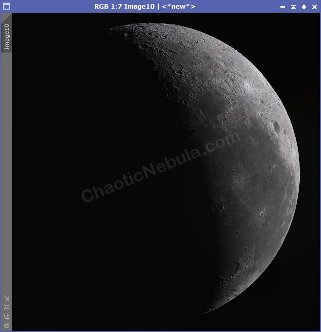Lunar Brightness Adjustment Result