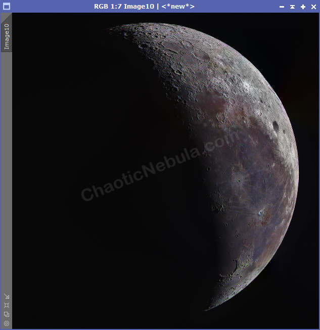 Moon after Local Histogram Equalization