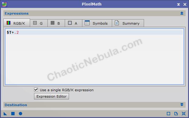 Pixel Math Flat Overcorrection Adjustment