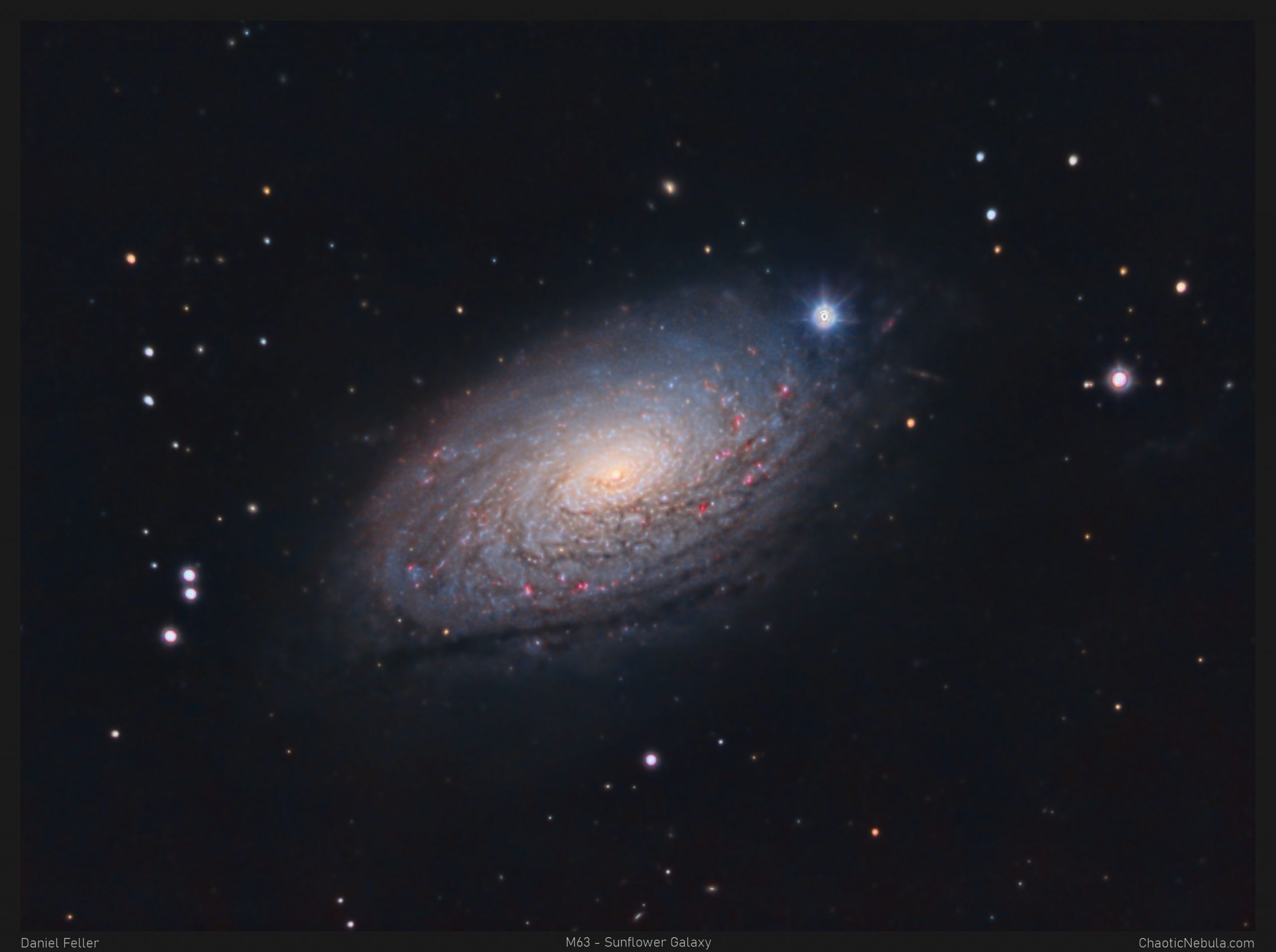 Read more about the article M63 – Sunflower Galaxy