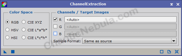 Channel Extraction
