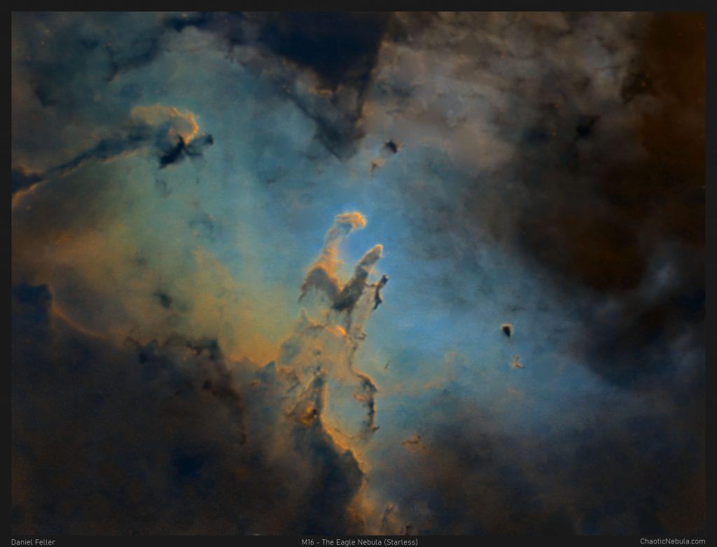 M16 - The Eagle Nebula (Starless)