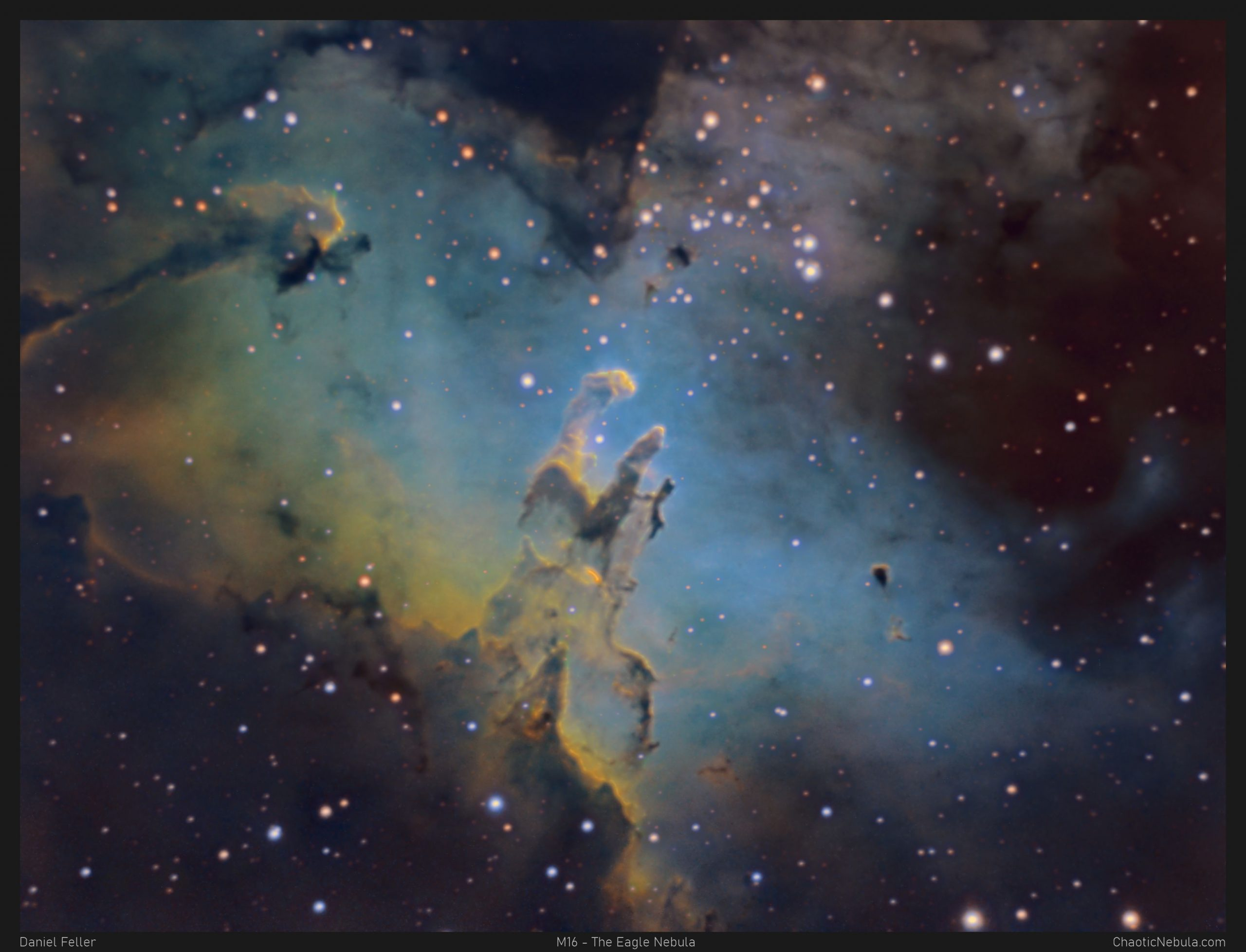 Read more about the article M16 – The Eagle Nebula with the Pillars of Creation