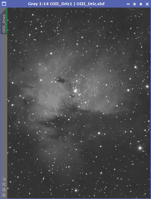 The Pacman Nebula - Oxygen-III