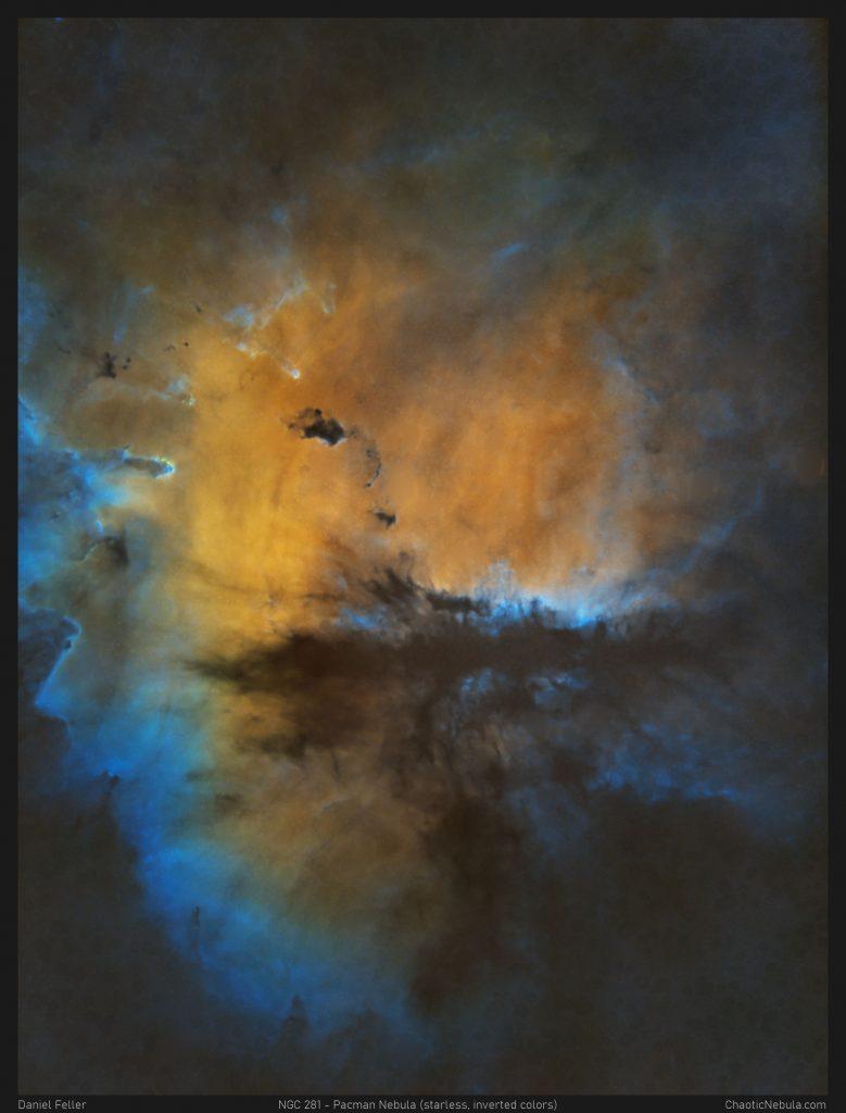 Pacman Nebula - OHS Color Scheme