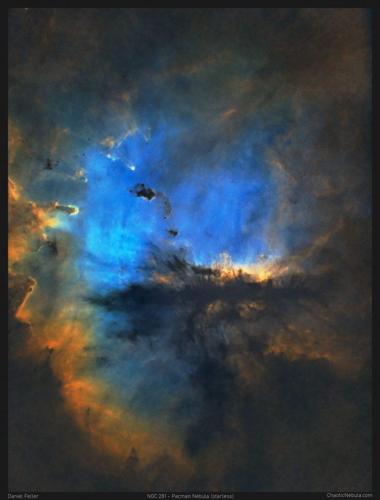 NGC 281 - The Pacman Nebula (Starless)