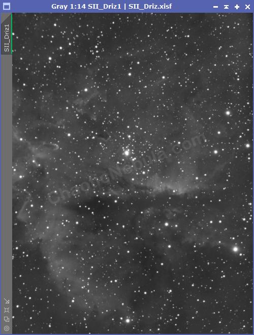 The Pacman Nebula - Sulphur-II