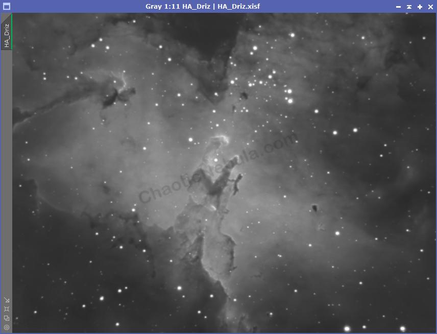 The Eagle Nebula - Hydrogen-Alpha