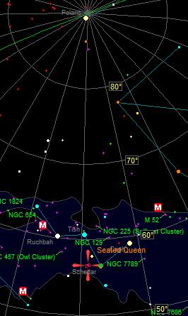 Pacman Nebula Location
