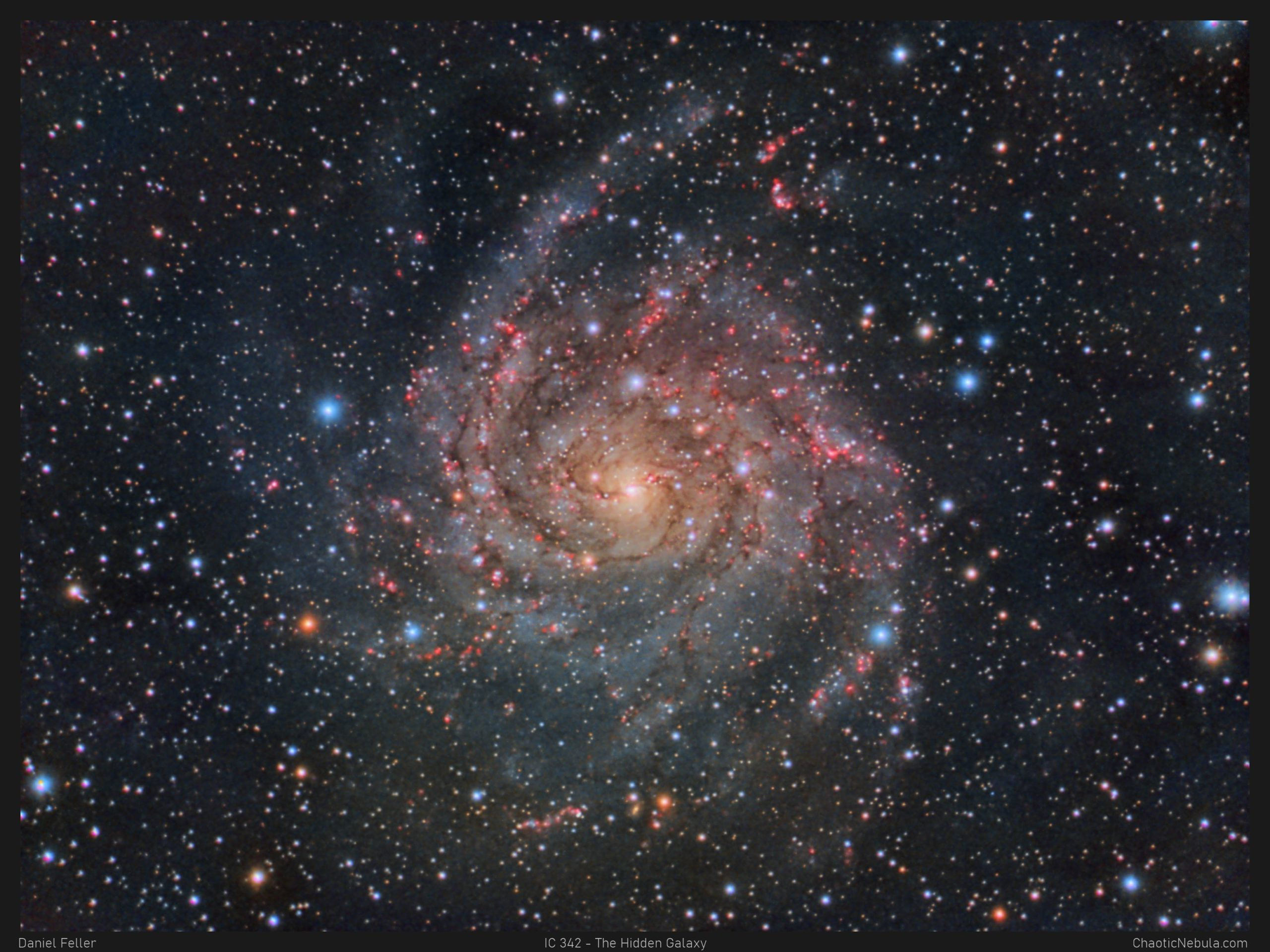 Read more about the article IC 342 – The Hidden Galaxy of Camelopardalis